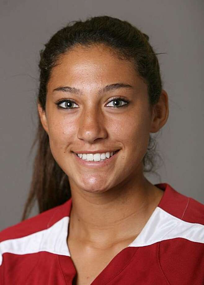 Christen Press of the Stanford Cardinal women's soccer team poses for a headshot on August 7, 2008 in Stanford, California Photo: David Gonzales, Stanford Athletics