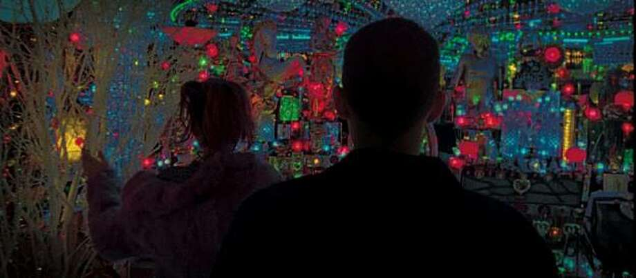 Nathaniel Brown as Oscar and Paz de la Huerta as Linda in ENTER THE VOID directed by Gaspar NoŽ Photo: IFC