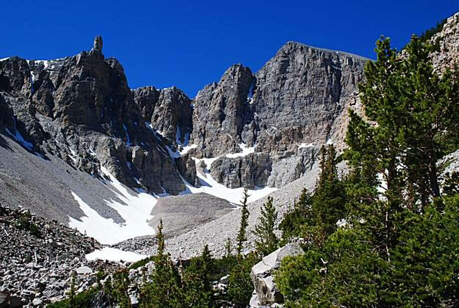 Geat Basin National Park: Wheeler Peak seen from just above the bristlecone pine grove. Photo: John Flinn, Special To The Chronicle