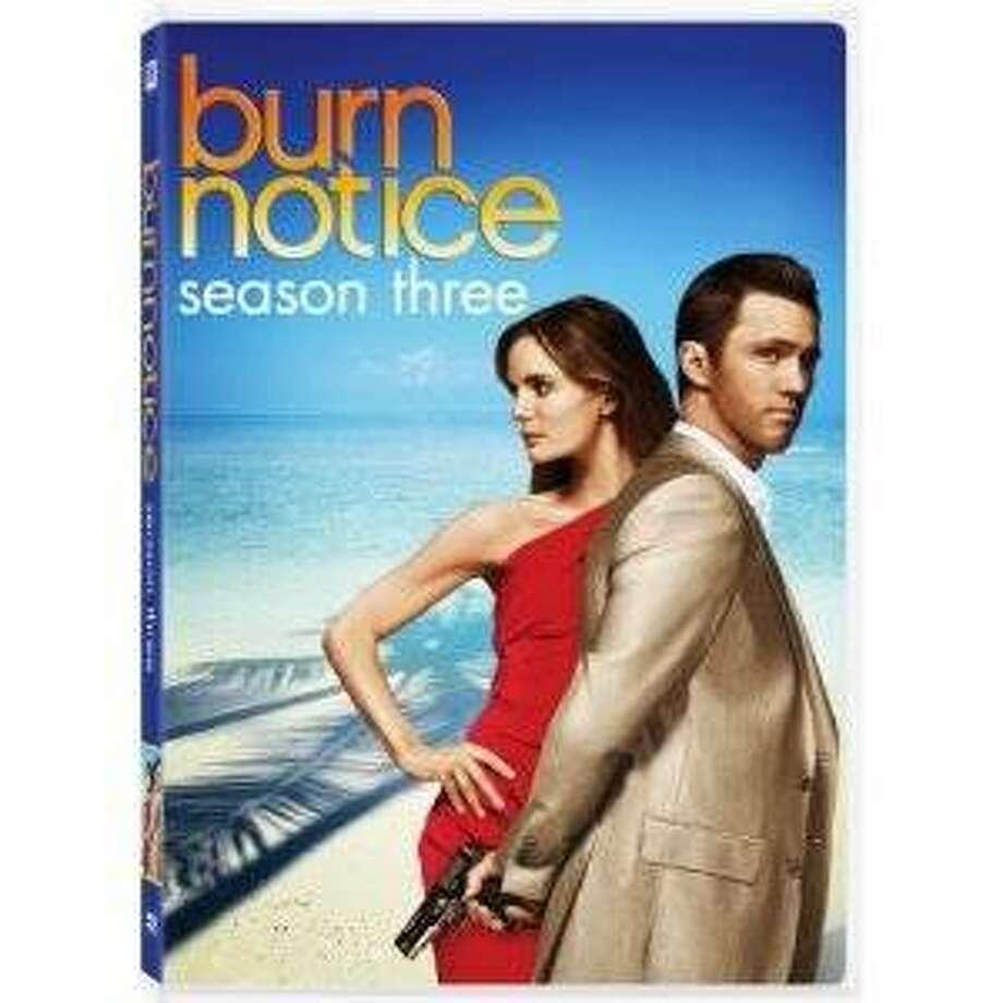 dvd cover BURN NOTICE: SEASON THREE Photo: Amazon.com