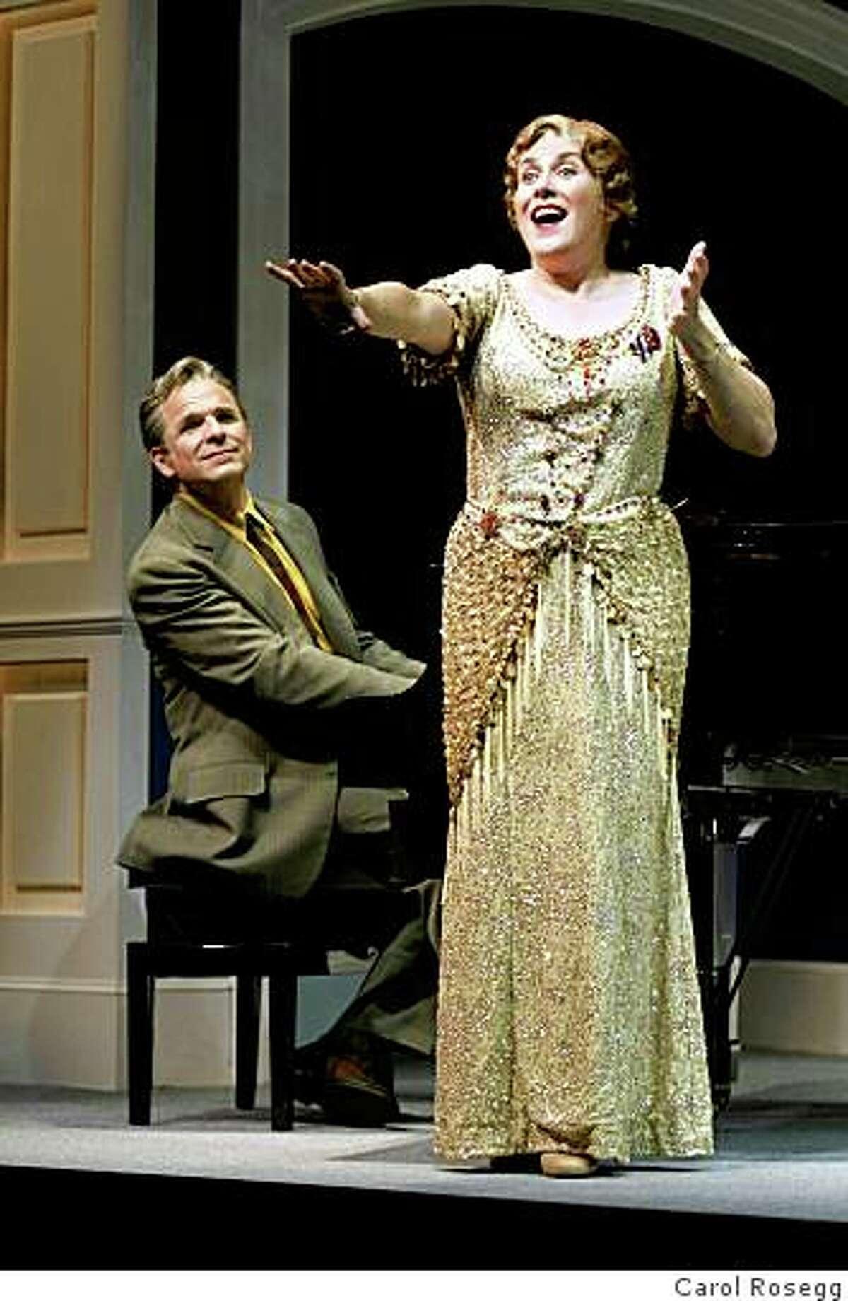 Donald Corren and Judy Kaye in Souvenir.