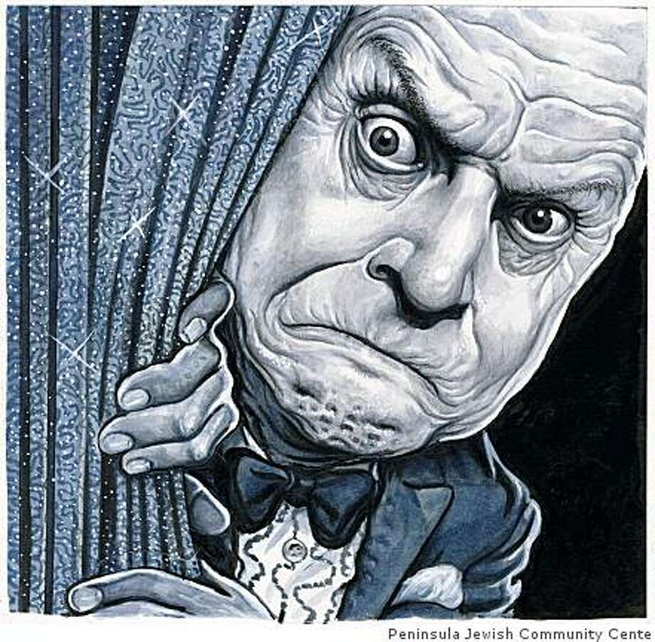 """Don Rickles,"" by Drew Friedman is part of a collection celebrating the Jewish pioneers of American comedy at the Peninsula Jewish Community Center.credit: courtesy of Peninsula Jewish Community Center. Photo: Peninsula Jewish Community Cente"