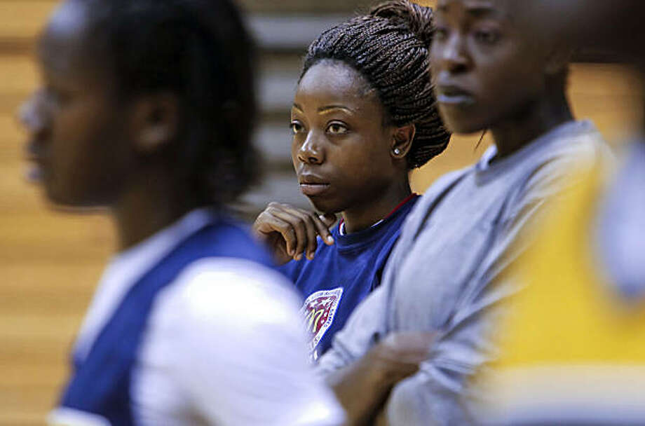 Tierra Rogers stops by Haas Pavilion to watch her former teammates during basketball practice on Thursday, Sept. 23, 2010, in Berkeley, Calif. Tierra Rogers is the Hunters Point native who was a basketball star at Sacred Heart Cathedral and whose father was shot dead at halftime at one of her games. She went on to play at UC Berkeley and almost died from a heart condition. Photo: Michael Macor, The Chronicle