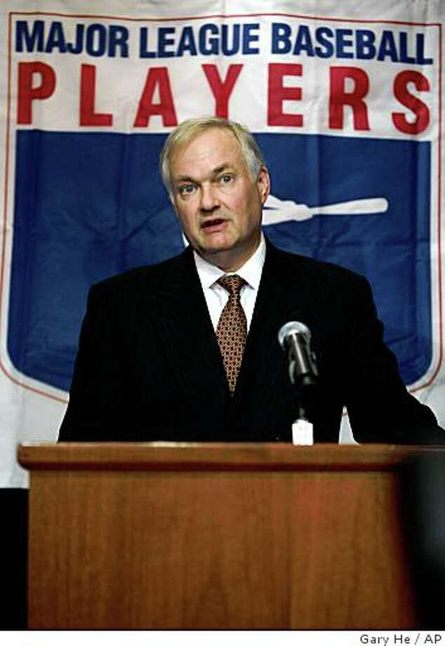Major League Baseball Players Association Executive Director Donald Fehr Photo: Gary He, AP