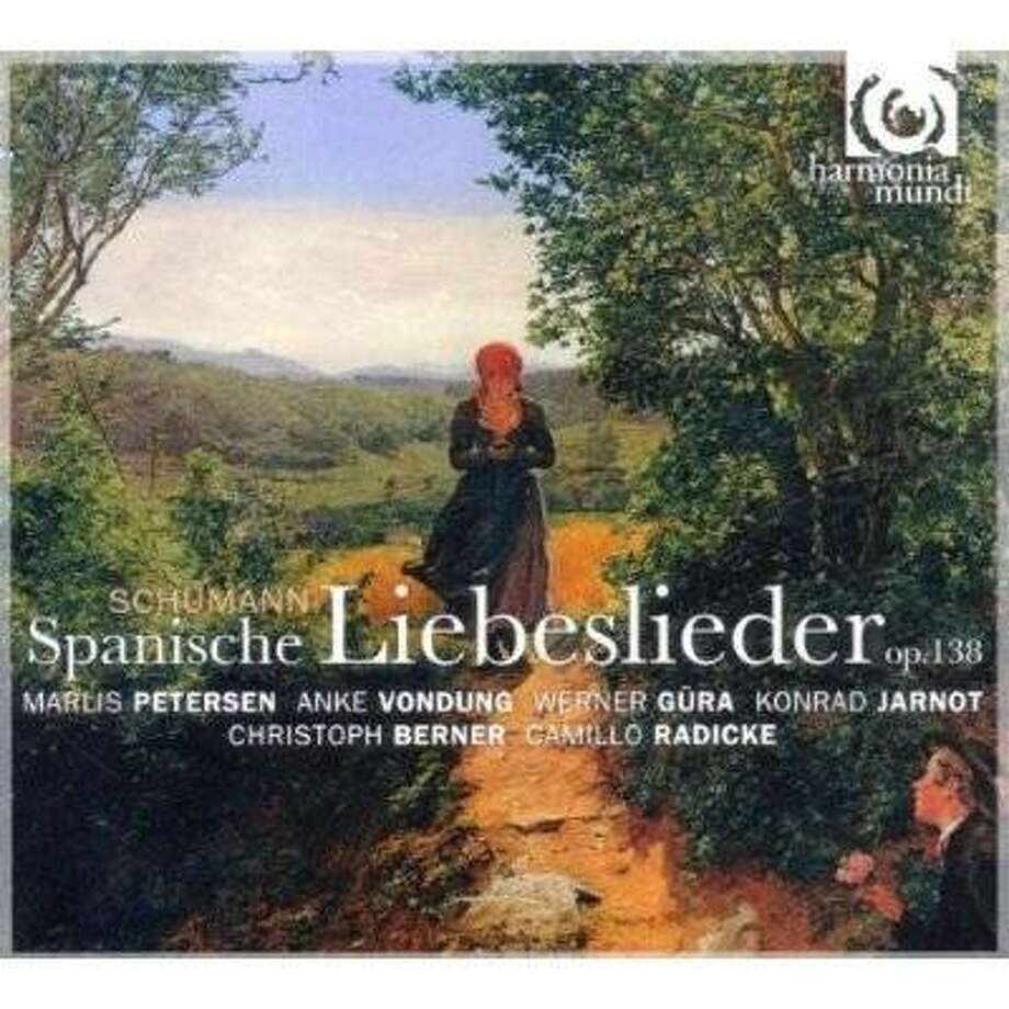 cd cover: SCHUMANN: SPANISCHE LIEBESLIEDER Photo: Amazon.com
