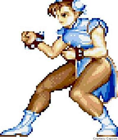 Here's Chun Li in her original game incarnation. Photo: Courtesy Capcom
