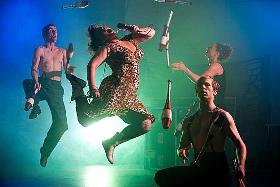Australia's Circus Oz Photo: Rob Blackburn