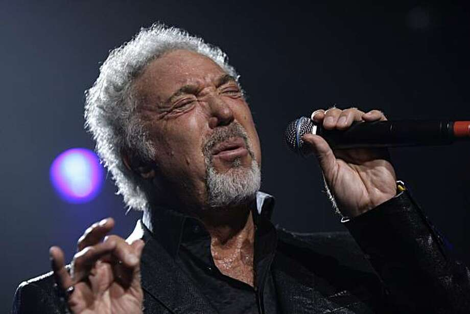 FILE - In this Sept. 24, 2009 file photo, singer Tom Jones performs at the Guinness 250th Anniversary Celebration at the Guinness storehouse in Dublin, Ireland. Photo: Joel Ryan, AP