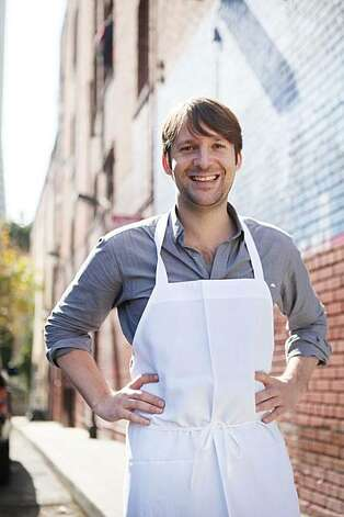 Visiting San Francisco as part of a book tour, Rene Redzepi, a 2-Michelin star chef at Noma in Denmark, stands for a portrait outside Coi Restaurant  Monday Oct. 4, 2010 in San Francisco, Calif. Photo: Mike Kepka, The Chronicle