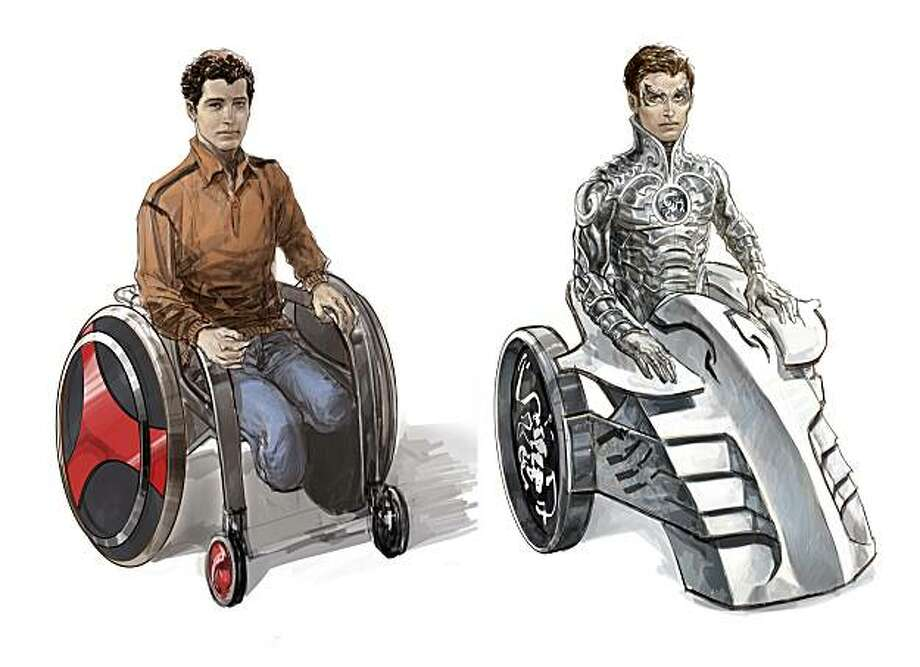 """In this artwork provided by Liquid Comics, LLC, the """"Sliver Scorpion"""" is shown. The new superhero is Muslim, who loses his legs in a tragic landmine accident and must learn to come to terms with the reality of his disability while learning to use his newfound power to fight for social inclusion, equity and justice. The """"Silver Scorpion"""" is the first cross-cultural superhero with disabilities created by bringing together Syrian and American youth with disabilities in Damascus, Syria as part of the Open Hands Initiative's inaugural Youth Ability Summit. (AP Photo/Liquid Comics, L.L.C.) NO SALES Photo: Liquid Comics, L.L.C., AP"""
