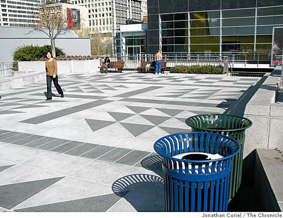 yerba buena gardens Photo: Jonathan Curiel, The Chronicle