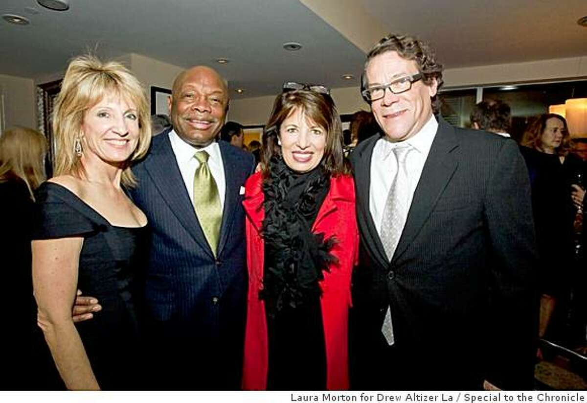 Alzheimer's Research for a Cure foundation hosted a reception for their benefactors at the St. Regis Hotel in San Francisco.Sandy mandel, Willie Brown, Jackie Speier, Scott Harkonen