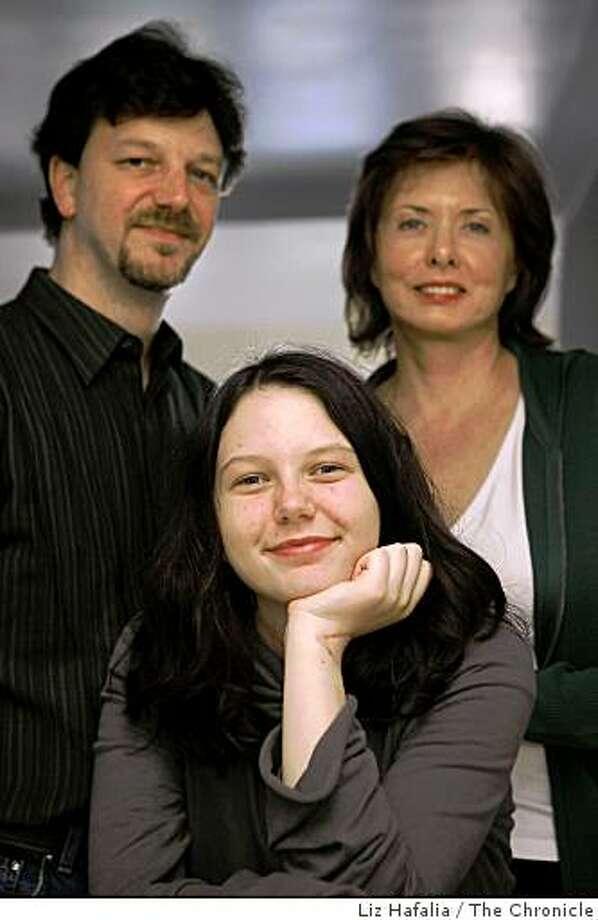 Loren Schaller (middle) Photo: Liz Hafalia, The Chronicle