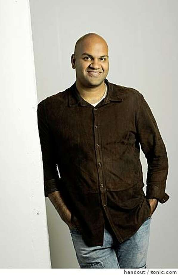 Pankaj Shah is founder of Tonic.com, a site that focuses on activism and social good while offering high quality merchandise that has the added benefit of making something good happen in the world. Photo: Handout, Tonic.com