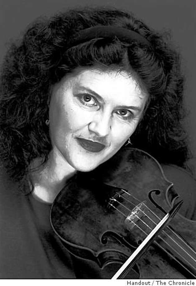 Violinist Elizabeth Blumenstock Photo: Handout, The Chronicle
