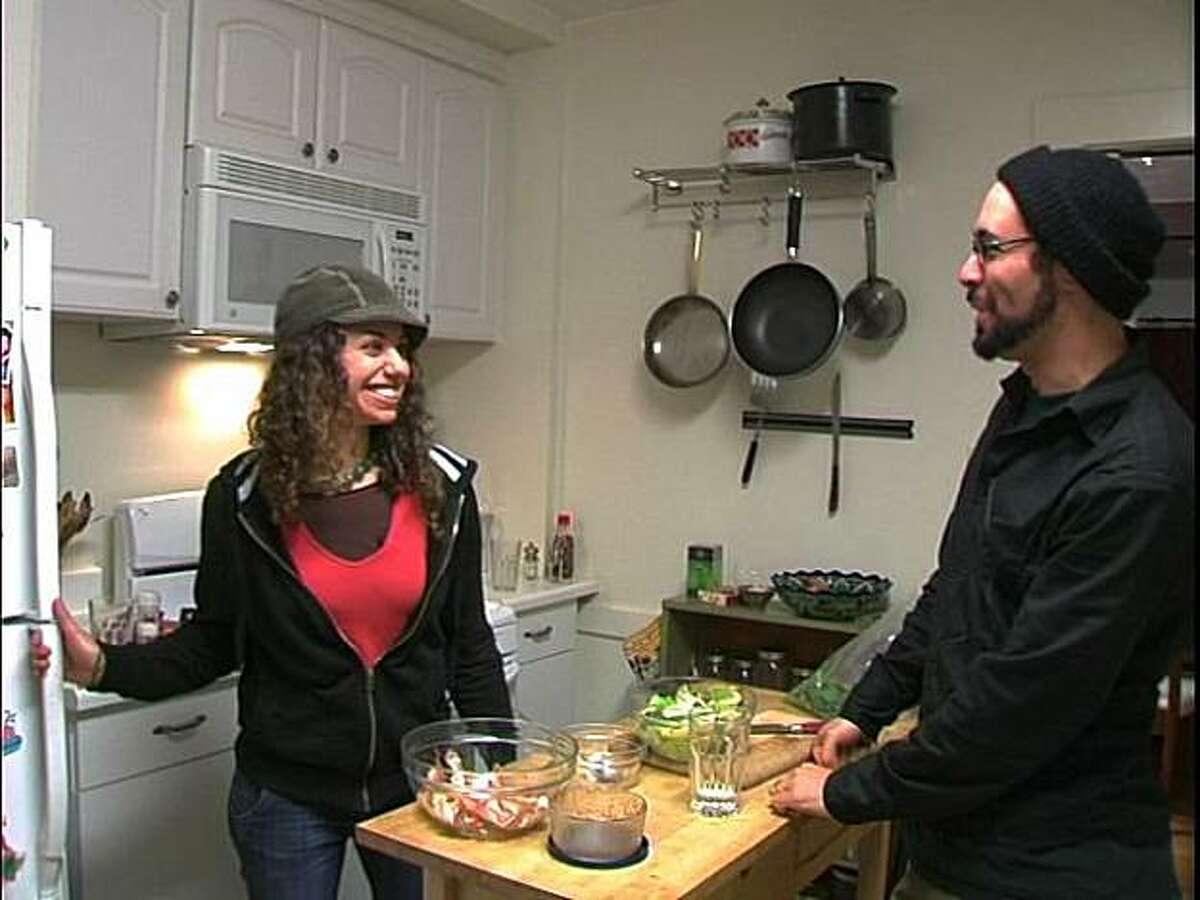Yoav and Shira Potash in FOOD STAMPED