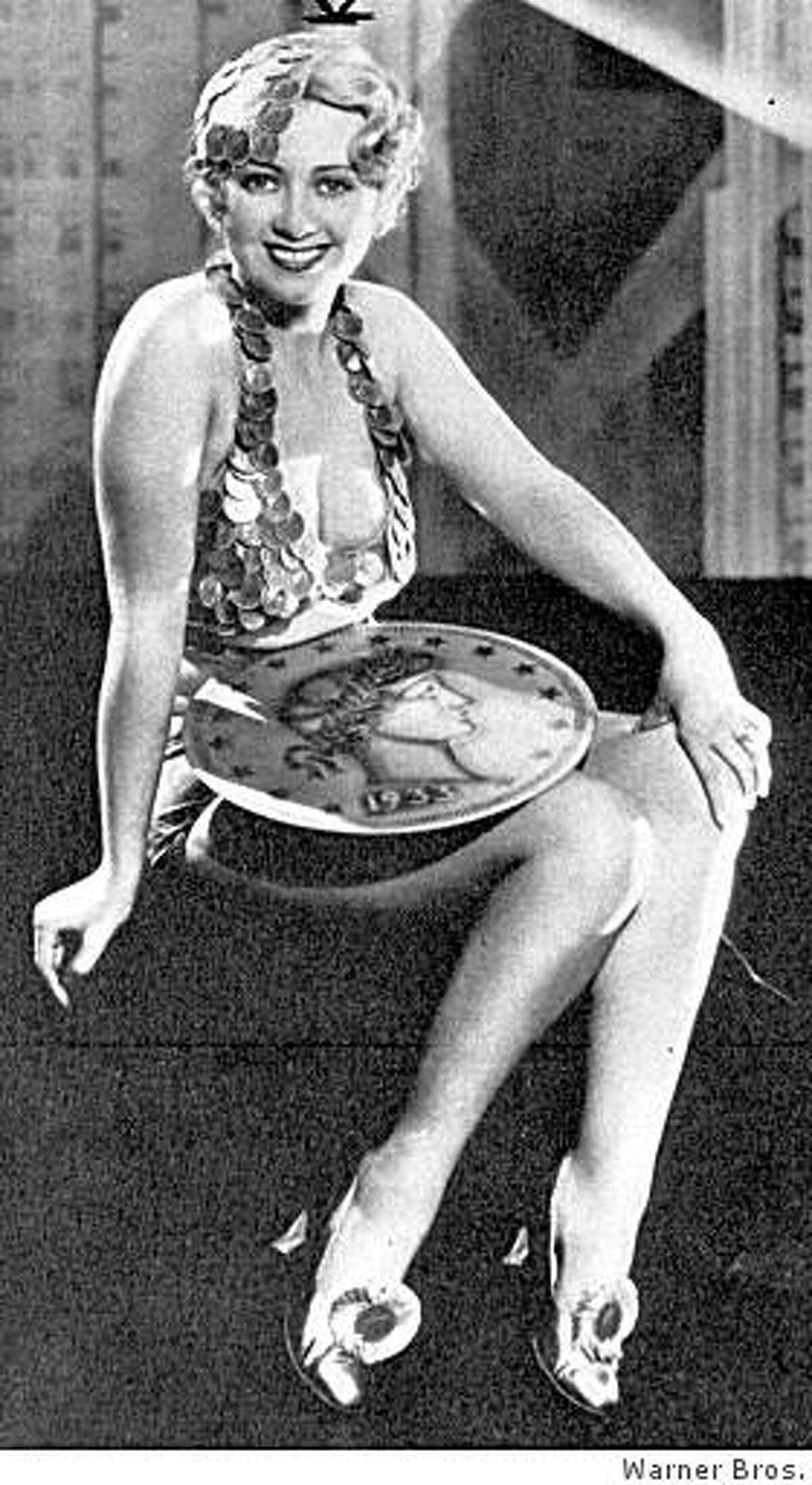 """Joan Blondell """"Gold Diggers of 1933"""""""