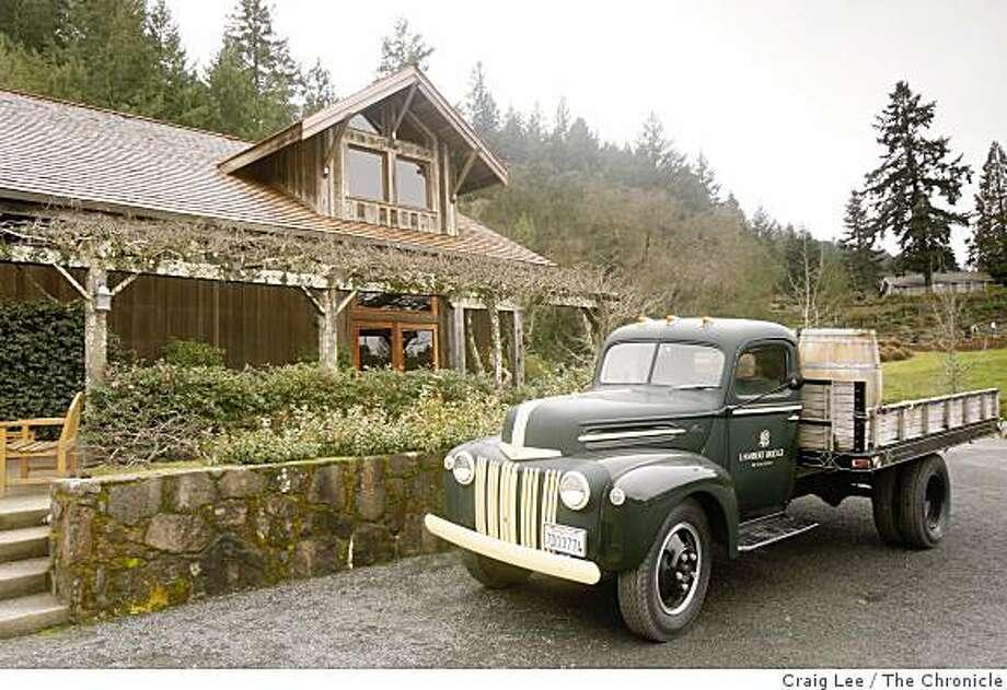 The Lambert Bridge winery taste room in Healdsburg, Calif., on January 23, 2009. Photo: Craig Lee, The Chronicle