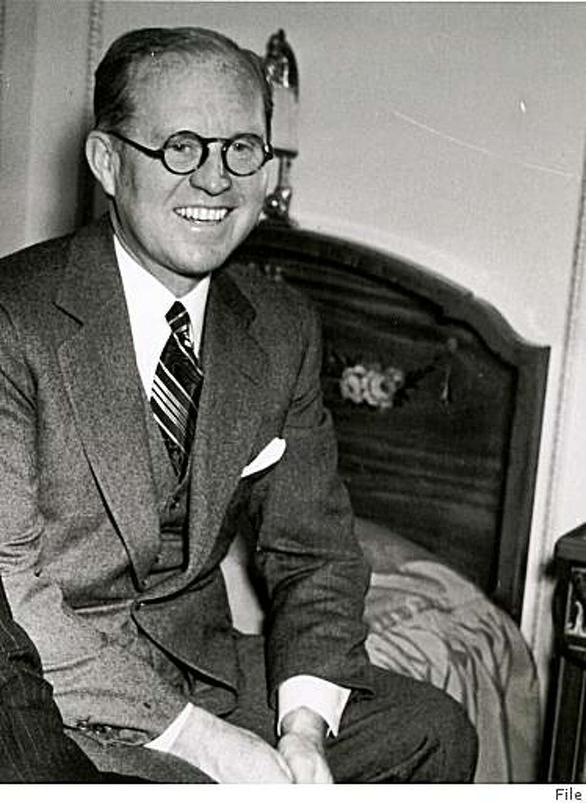 Joseph P. Kennedy ca. 1938 / File photo