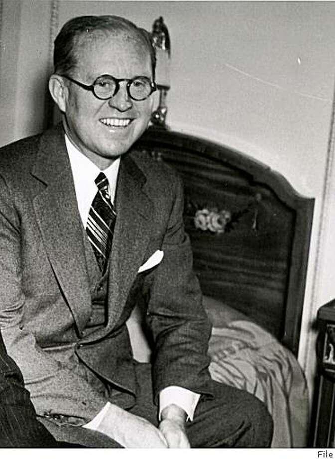 Joseph P. Kennedy ca. 1938 / File photo Photo: File
