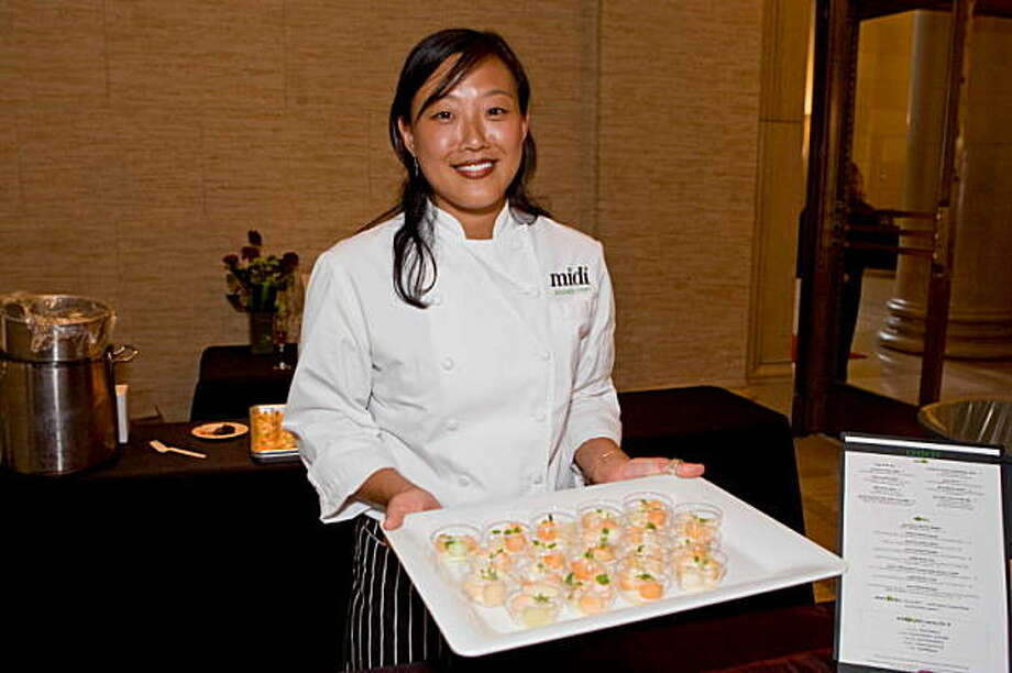 Midi Executive Chef Michelle Mah at the annual Dress for Success fundraiser Success: You Wear It Well at the Bently Reserve on September 16. Michelle Mah Photo: Heather Wiley, For Drew Altizer Photography
