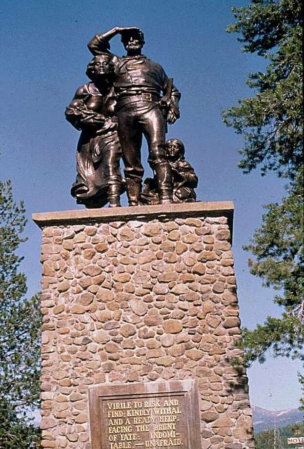 Pioneer Monument, Donner State Park Photo: CourtesyTruckee Donner Chamber, Of Commerce