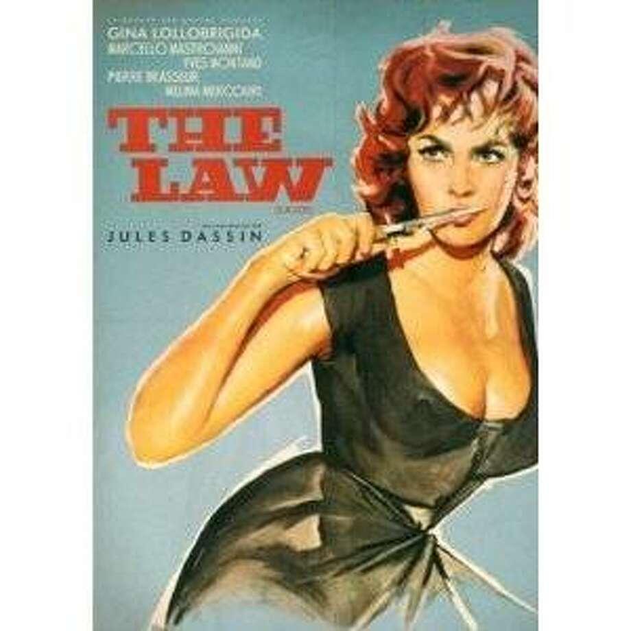 dvd cover: Jules Dassin's THE LAW Photo: Amazon.com