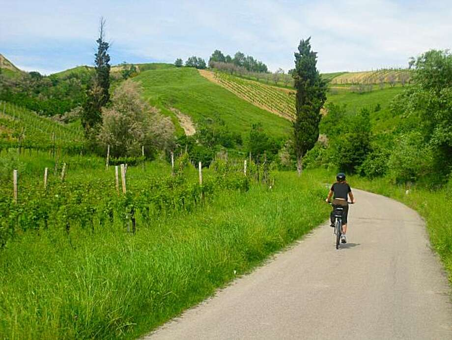 Scene while cycling to Riolo Terme from Brisighella Photo: Jeff Greenwald, Special To The Chronicle