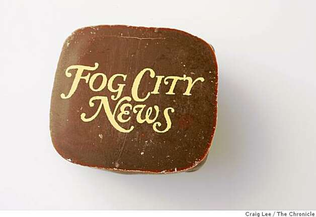 Fog City News chocolate, exclusive, made with rare apple brandy from bonny doon vineyards and two kinds of cinnamon. Photo: Craig Lee, The Chronicle