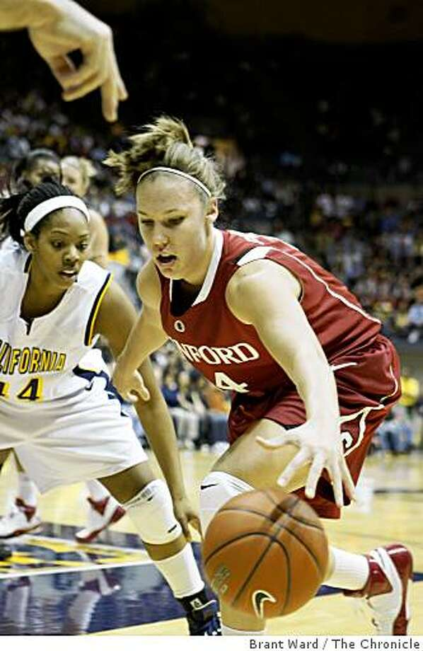 Stanford women visit Cal Sunday January 18, 2009. Cal beat Stanford at Haas Pavilion. Photo: Brant Ward, The Chronicle