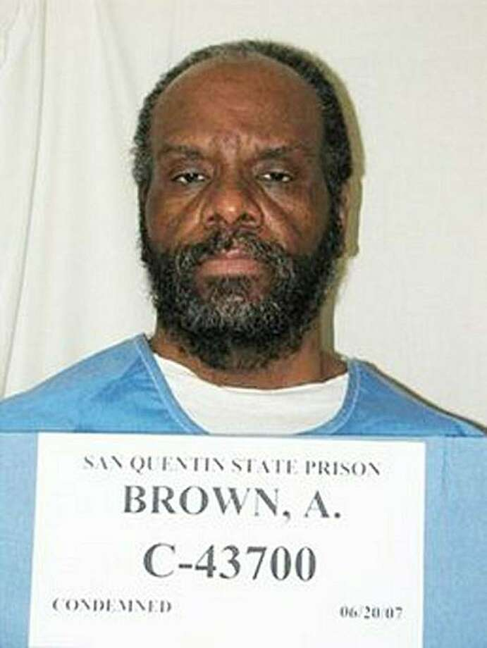 This 2007 photo released by the California Department of Corrections shows Albert Greenwood Brown. Anti-death penalty campaigners slammed on September 28, 2010 California's plans to resume executions, as the timing of the state's first in over four yearshangs in the balance amid a shortage of a lethal drug. Albert Greenwood Brown is scheduled to die at 9:00 pm Thursday (0800 GMT Friday) for abducting and raping a 15-year-old schoolgirl in 1980 -- a day later than originally scheduled after a legal delayordered by Governor Arnold Schwarzenegger. But the execution, due to take place at San Quentin prison north of San Francisco, has also been called into question because its timing comes shortly before the expiration date of a last remaining batch of the Photo: Ho, AFP/Getty Images