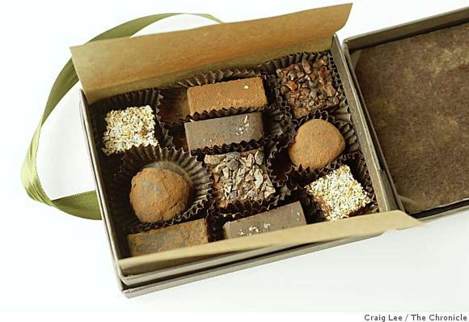 NeoCocoa truffles, in San Francisco, Calif., on January 15, 2009. Photo: Craig Lee, The Chronicle