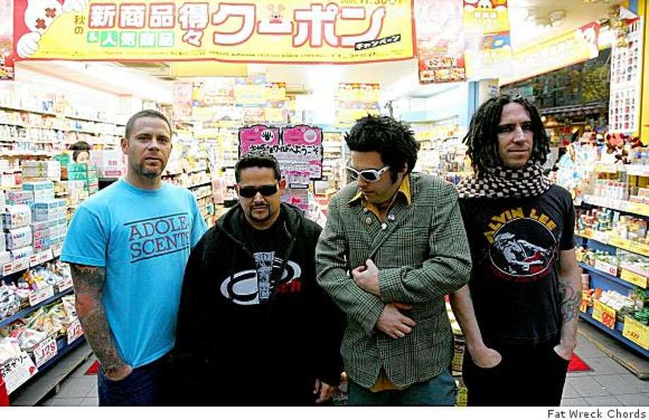 San Francisco punk band NOFX. Photo: Fat Wreck Chords