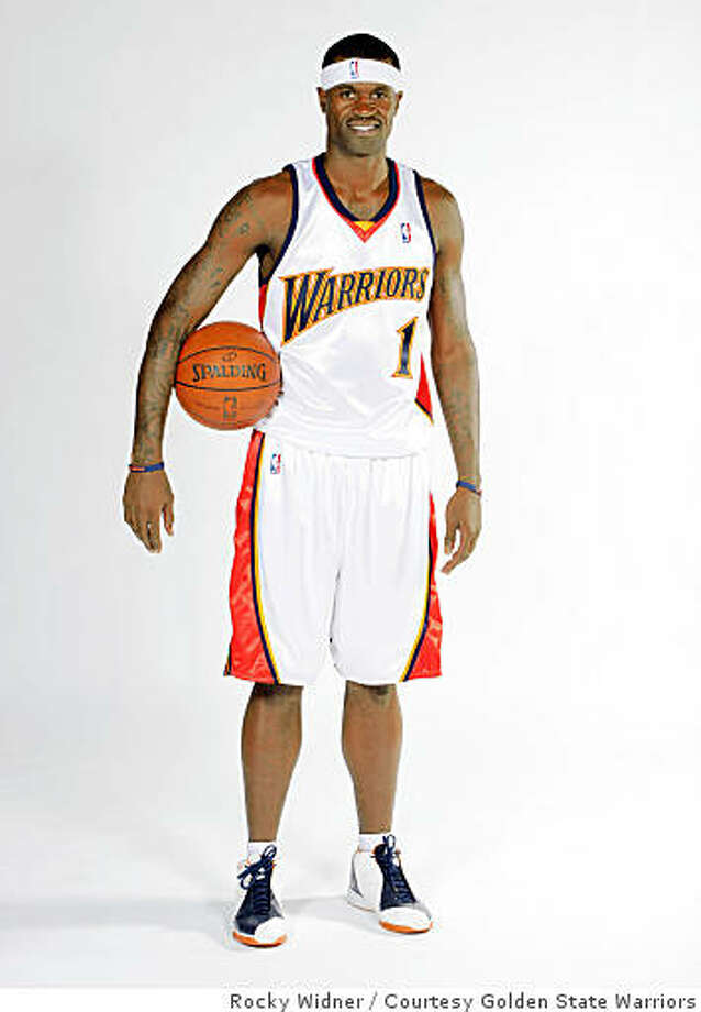 Stephen Jackson of the Golden State Warriors Photo: Rocky Widner, Courtesy Golden State Warriors