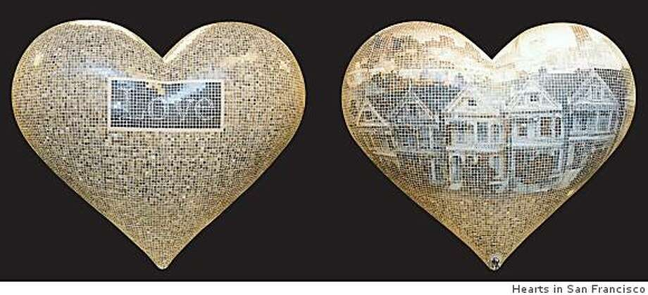 Heart by Exact Mosaics Photo: Hearts In San Francisco