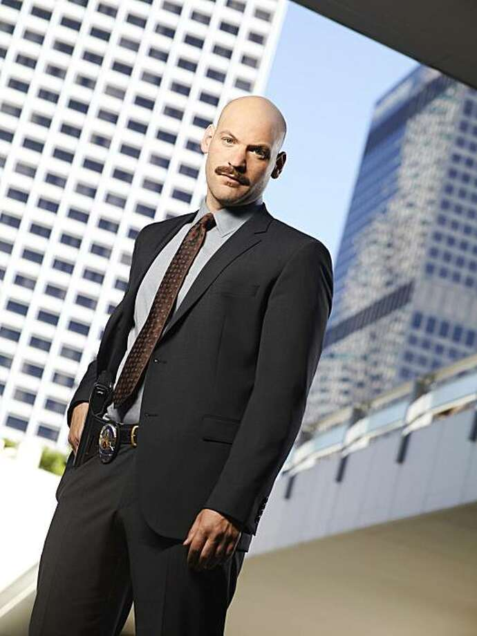 "LAW & ORDER: LOS ANGELES -- Season: 1 -- Pictured: Corey Stoll as Detective Tomas ""TJ"" Jaruszalski Photo: Mitchell Haaseth, NBC"