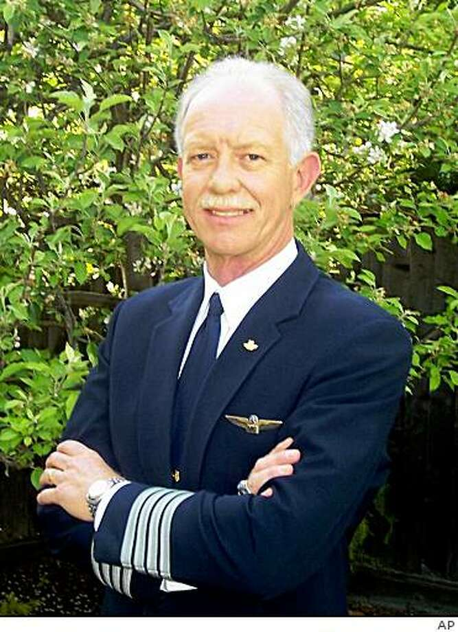 ** CORRECTS SPELLING OF CHESLEY ** In this image taken from the website of Safety Reliability Methods, Inc., US Airways pilot Chesley B. Sullenberger III is shown. An official speaking on condition of anonymity because the investigation was still ongoing, identified Sullenberger as the pilot of US Airways Flight 1549, which crash landed in the Hudson River in New York Thursday, Jan. 15, 2009. (AP Photo/Safety Reliability Methods, Inc.) Photo: AP