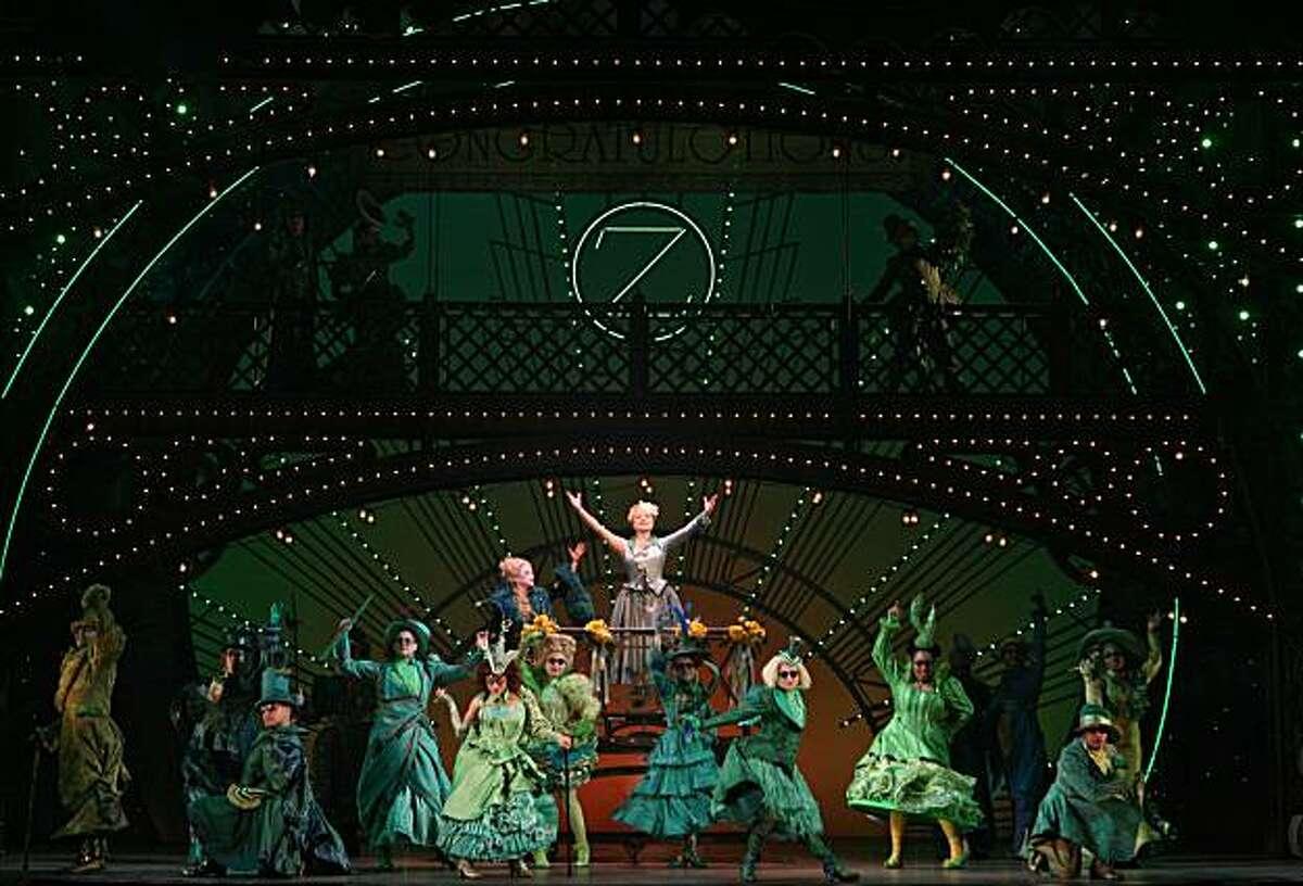 "Kendra Kassebaum (left) is Glinda in the touring version of ""Wicked."""