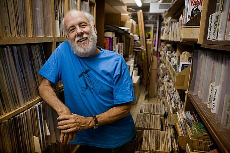 After owning Village Music for 40 years, music enthusiast John Goddard still makes his collection available for sale for  five hours a week, across the street from his previous location.  Goddard officially closed the doors of Village Music in September 2007 and considers his current store a hobby. Goddard was photographed on Friday, September 3, 2010 in Mill Valley, Calif. Photo: John Sebastian Russo, The Chronicle