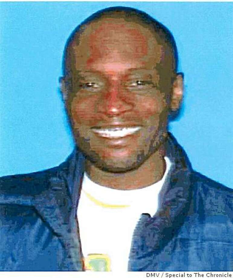 40-year-old Myron Edwards was killed Saturday, Feb. 7, 2009 in San Francisco, Calif. All the recovering addict wanted was his dog back. After he went to SF Housing Authority officials to complain that someone had stolen it during a burglary last week at the Plaza East project in the Western Addition, someone beat Edward up, and three days later he was shot to death. Photo: DMV, Special To The Chronicle