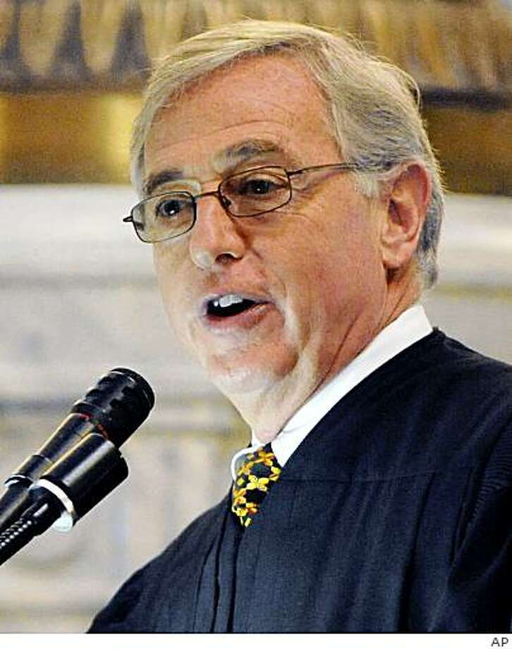 ** FILE ** In this undated photo, Luzerne County Judge Mark Ciavarella is seen. Two Pennsylvania judges, including Ciavarella,  are scheduled to plead guilty in federal court Thursday Feb. 12, 2009 to fraud charges accusing them of taking millions of dollars in kickbacks in return for placing juvenile offenders into certain detention facilities. (AP Photo/Times Leader) ** CITIZEN?S VOICE OUT, SCRANTON TIMES OUT, STANDARD-SPEAKER OUT ** Photo: AP