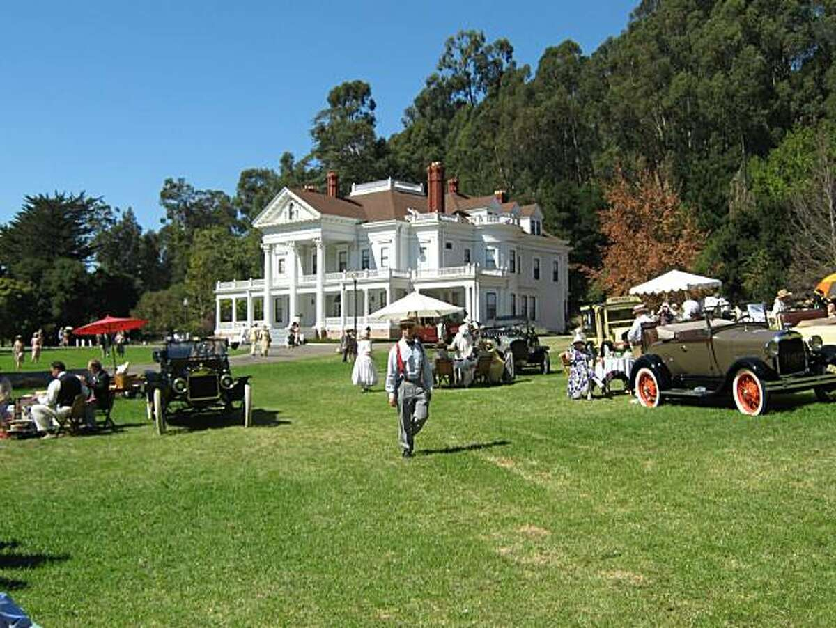 The Dunsmuir Hellman mansion in Oakland is the setting for the Art Deco Society's annual Gatsby Summer Afternoon, Sept. 12.