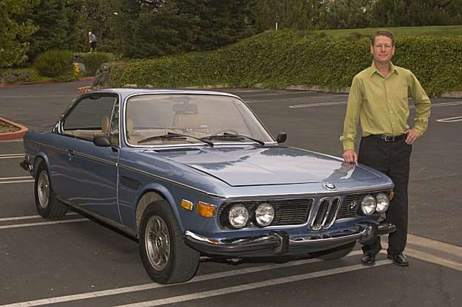 After a brutal negotiation, I drove away with my 1972 BMW 3.0 CSi coupe to proudly show my wife our new project. Photo: Stephen Finnerty