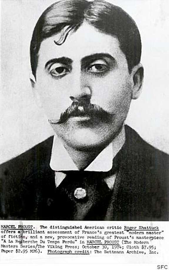 Marcel Proust, author of the six- volume novel 'In Seach of Lost Time' Photo: SFC
