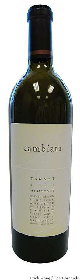 Cambiata Monterey Tannat Photo: Erick Wong, The Chronicle