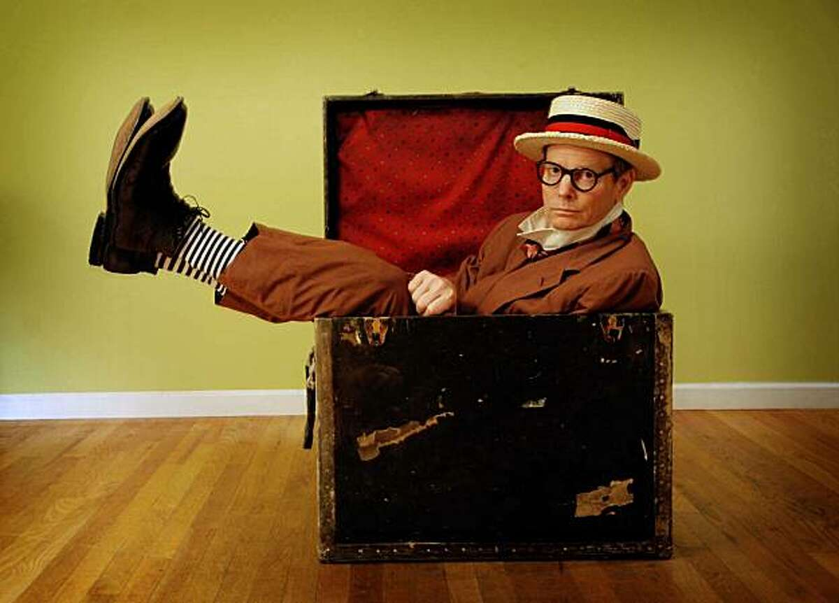 Bill Irwin, co-adapter, director and title character in