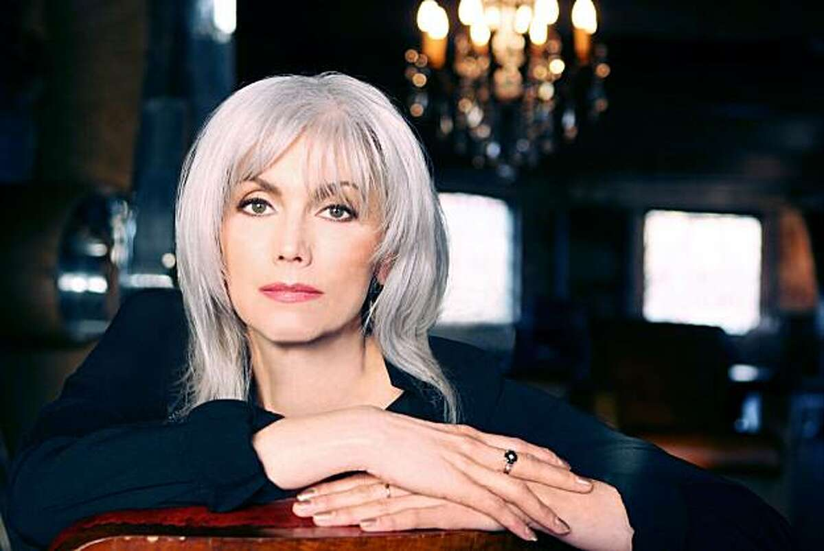 Emmylou Harris, the silver-haired queen of the Hardly Strictly Bluegrass Festial.