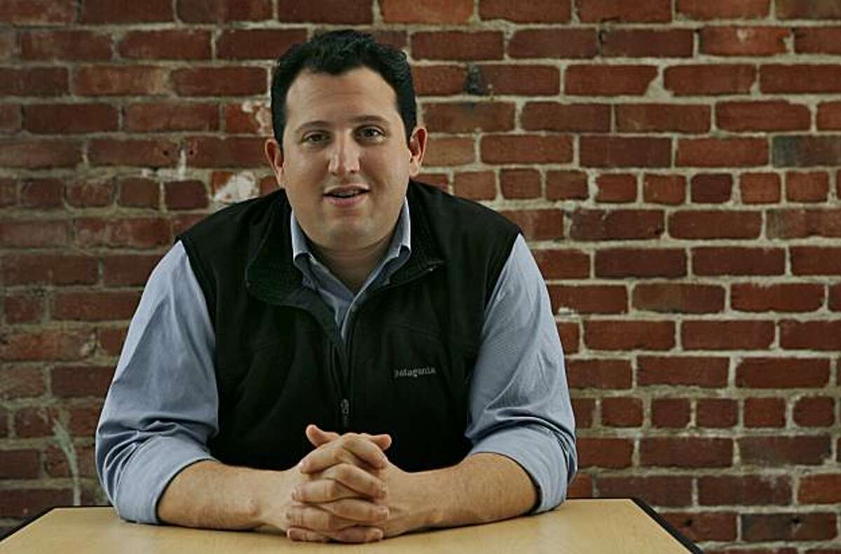 Named at Davos as a 2011 Technology Pioneer, David Ulevitch is CEO of the San Francisco-based company OpenDNS. The 4-year-old company moved into its current office space on Townsend Street for almost six months. In San San Francisco, Calif. on Friday, Sept. 17, 2010.