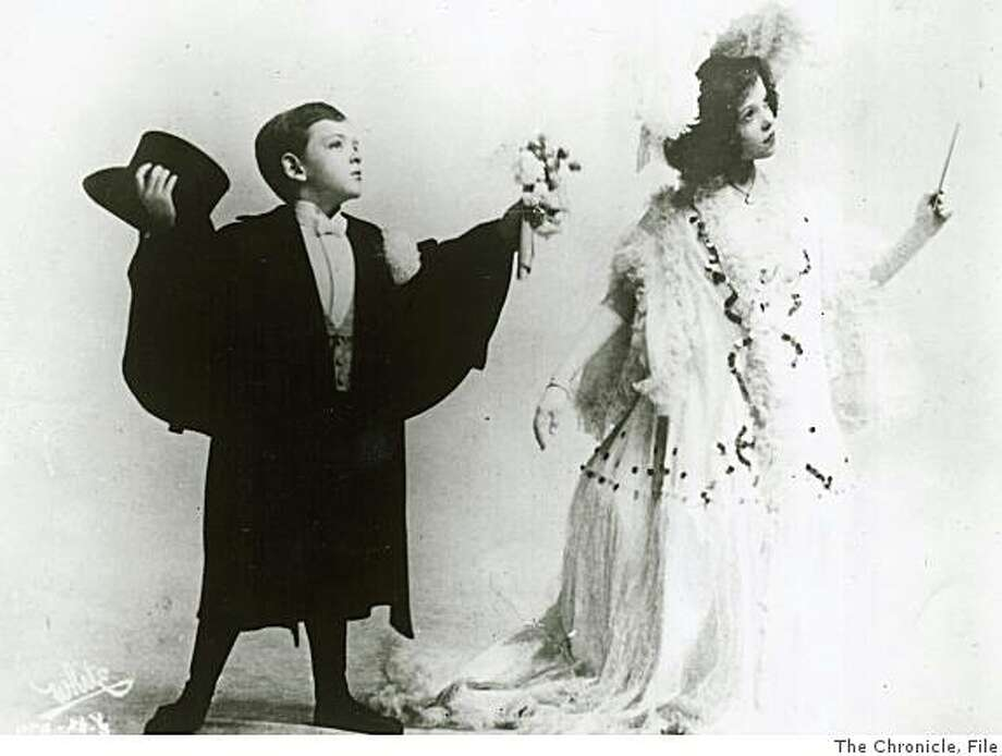 wayback08.jpg 1906 - Fred and Adele Astaire play a bride and groom in their vaudeville act in 1906.Photographer Unknown/Chronicle File Photo: Photographer Unknown, The Chronicle, File