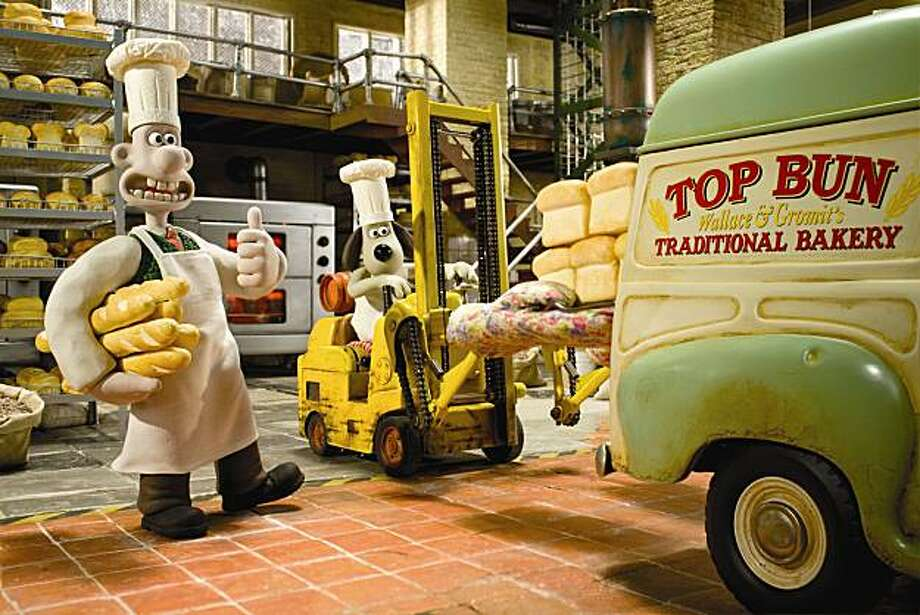 A Matter of Loaf and Death; United Kingdom, Oscar Nominee: Nick Park. Wallace & Gromit have started a new bread baking business, ÔTop BunÕ and converted 62 West Wallaby Street into a granary with ovens, robotic kneading arms and an old-fashioned windmill on the roof. The transformation is perfect.